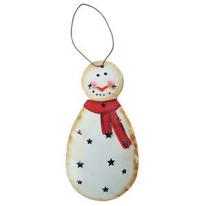 Holiday - Snowman Plastic Christmas Ornament